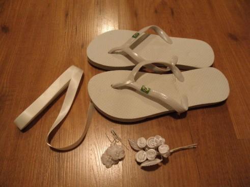 חומרים להכנת נעלי כלה להחלפה