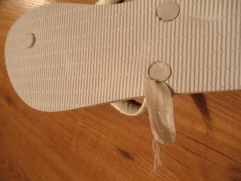 הכנת נעלי כלה להחלפה