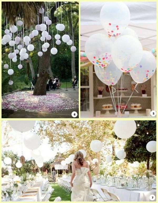 חתונה בעיצוב בלונים