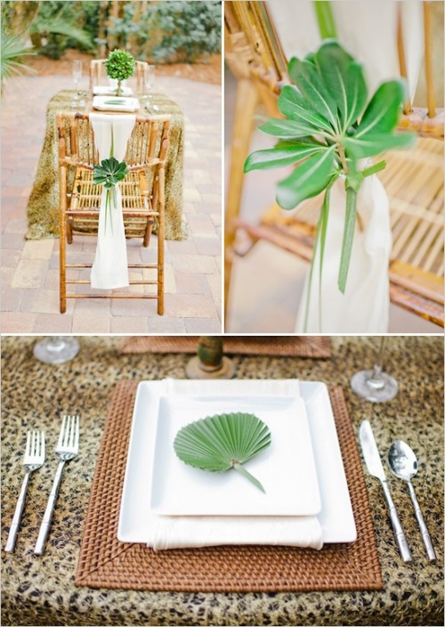 חתונה בעיצוב ספארי