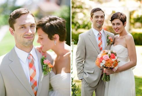 אביזרים צבעוניים לכלות וחתנים