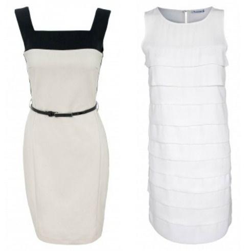 שמלת קוקטייל לבנה