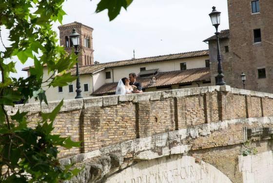 צילומים מקדימים ברומא