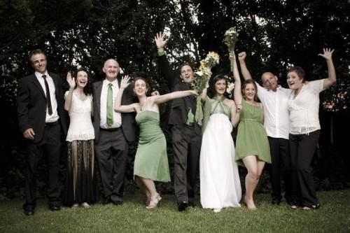 צילומי משפחה תיאום צבע