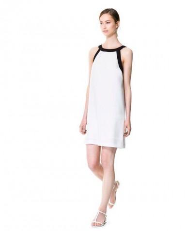 שמלת כלה לבנה פשוטה