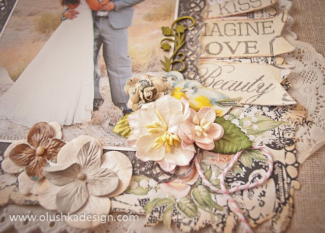 אלבום חתונה בעבודת יד