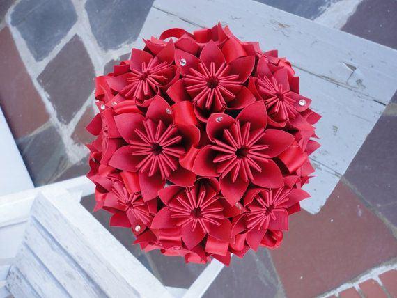 פרחי אוריגמי
